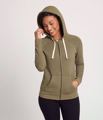 Picture of Next Level Ladies PCH Zip Hoodie