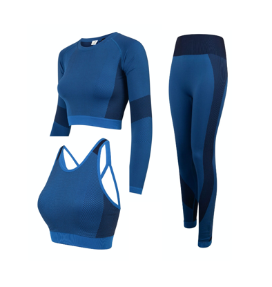 Picture of Navy & Royal Blue Workout Set