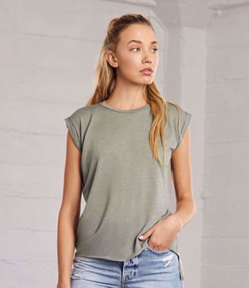 Picture of Bella Rolled Cuff T-shirt