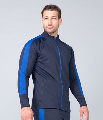 Picture of Finden and Hales Panelled Zip Up
