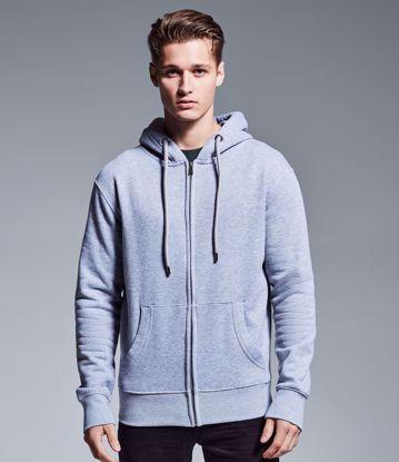 Picture of Men's Organic Full Zip Hoodie