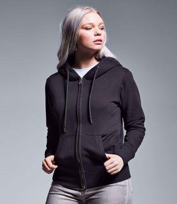 Picture of Women's Organic Full Zip Hoodie