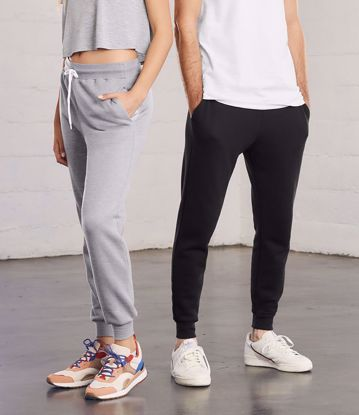 Picture of Unisex Canvas Jogger